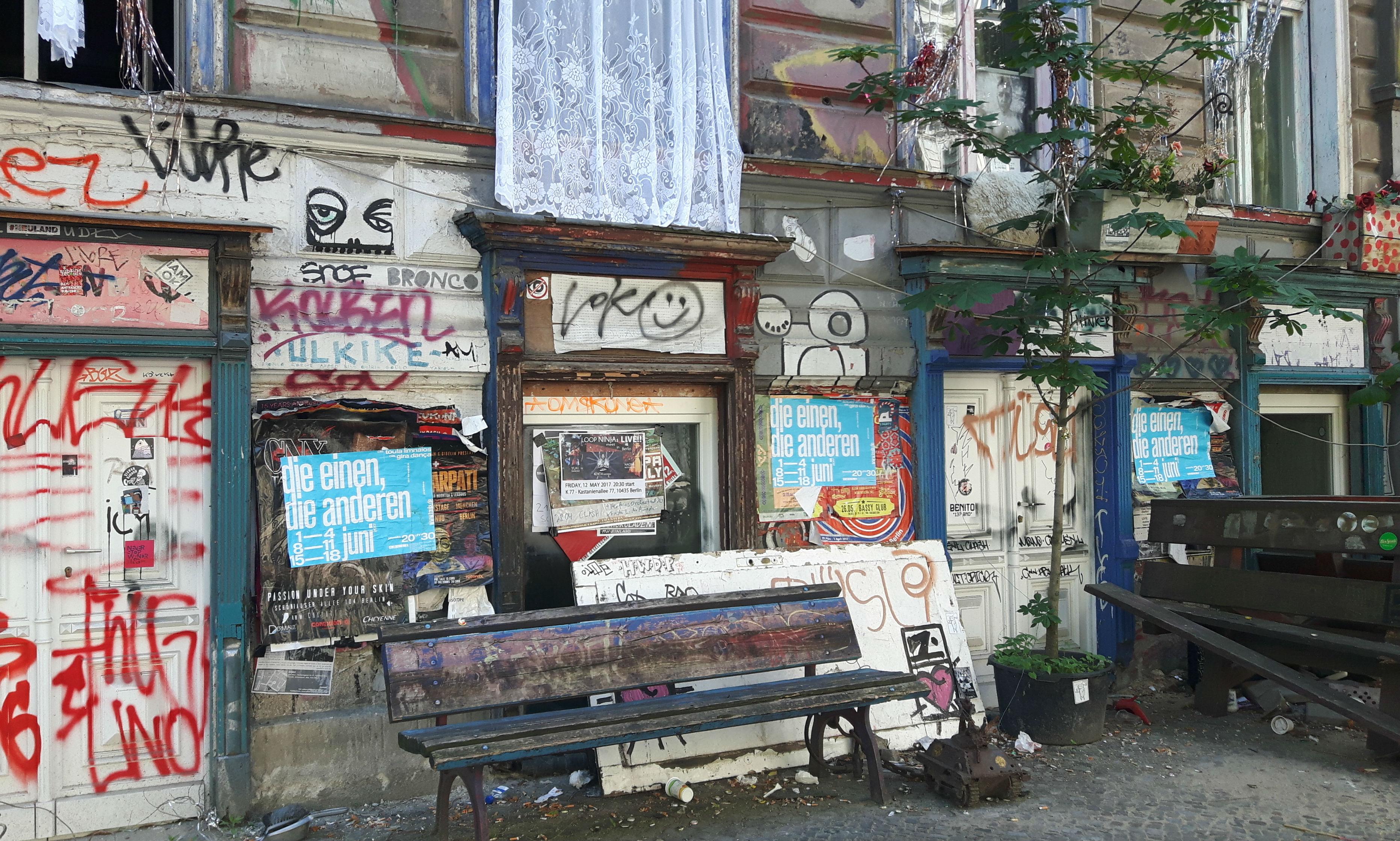 Berlijn Kastanje Allee
