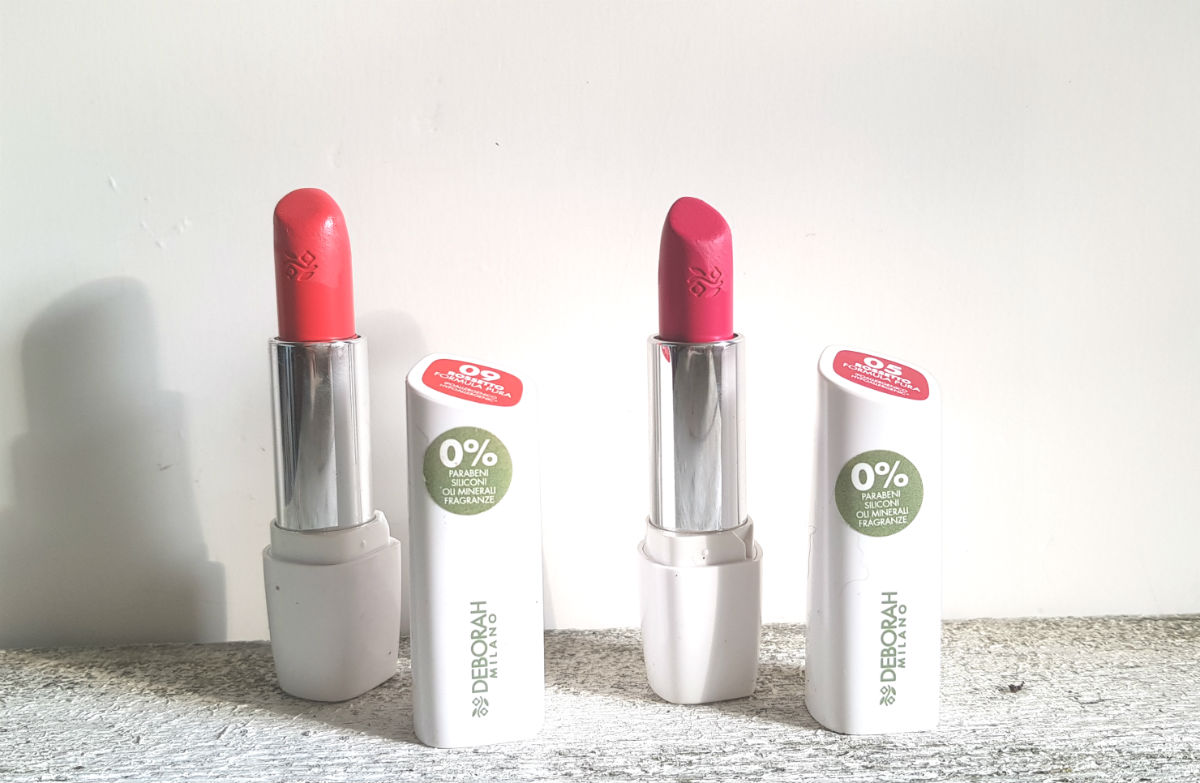 f90c4515c6c Deborah Milano Formula Pura Lipstick 05 & 09 - world of bliss