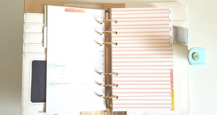 Webster's Pages Personal Planner