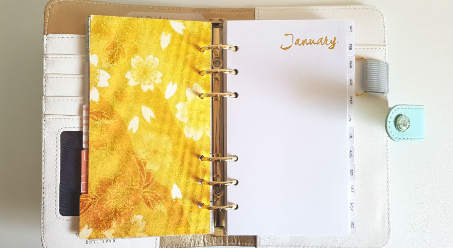 Webster's Pages Planner