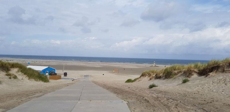 Terschelling Strand Noordzee