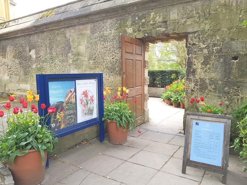 Ingang Botanic Garden Oxford