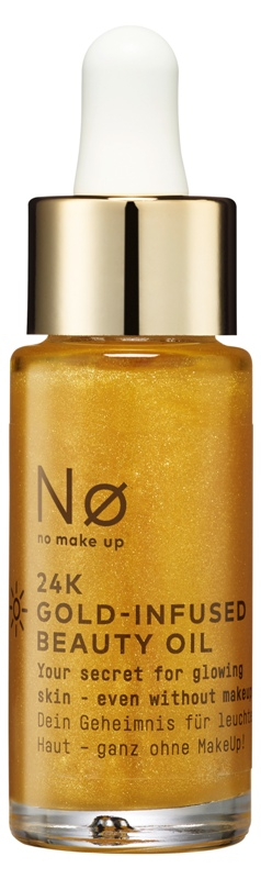 Nø® Make Up 24K Gold-Infused Beauty Oil