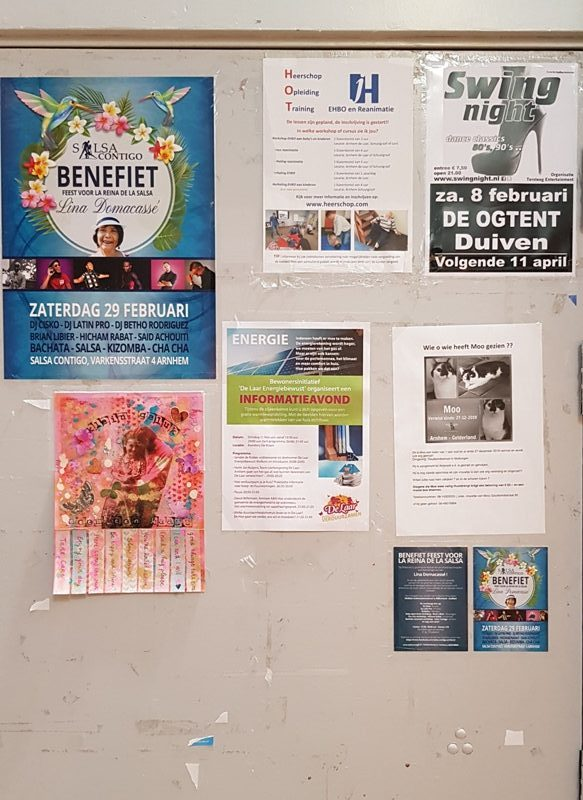 Happiness project Affiche Klein Geluk Supermarkt