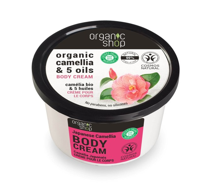 Organic Shop Body Cream Japanese Camelia